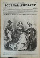 1856  JOURNAL AMUSANT N° 26 DIALOGUE DES MORTS ET DES VIVANTS Par MARCELIN Et Charles PHILIPON - 1850 - 1899