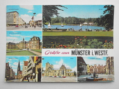 Postcard Grusse Aus Munster I Westf PU 1981 My Ref B21844 - Greetings From...