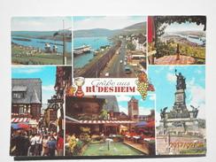 Postcard Grusse Aus Rudesheim PU 1985 My Ref B21846 - Greetings From...