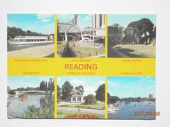 Postcard Reading Multiview By Caversham Publishing My Ref B21849 - Reading