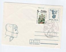 1987 POLAND Postal STATIONERY COVER Glowy Wawelskie EVENT Pmk BISHOP Wyszyński Uprated Jessego TREE Stamp Religion - Stamped Stationery