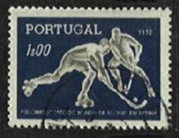 PORTUGAL, AF 751a, Yv 762a, Carton Paper, Used, F/VF, Cat. € 40,00 - Errors, Freaks & Oddities (EFO)