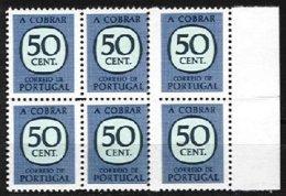 PORTUGAL, Postage Dues, AF 69, Yv 73, ** MNH, F/VF - Port Dû (Taxe)