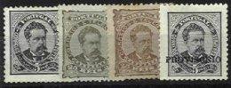 PORTUGAL, AF 57, 60, 80: Yv 56A, 59, 78, (*) MNG, Ave/Fine, Cat. € 100,00 - 1862-1884 : D.Luiz I