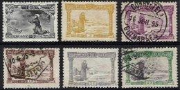 PORTUGAL, AF 111/16, Yv 109/14, */o M/U, F/VF, Cat. € 70,00 - 1862-1884 : D.Luiz I