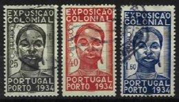 PORTUGAL, AF 561/63, Yv 572/74, Used, F/VF, Cat. € 28,00 - 1910-... République