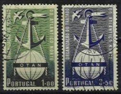 PORTUGAL, AF 749/50, Yv 760/61, Used, F/VF, Cat. € 40,00 - Neufs
