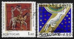 PORTUGAL, AF 1248a, 1251a: Yv 1258a, 1261a, Used, F/VF, Cat. € 4,00 - Neufs