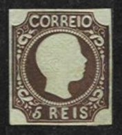 PORTUGAL, AF 9, Yv 9, (*) MNG, F/VF, Cat. € 850,00 - 1855-1858 : D.Pedro V