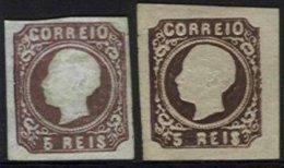 PORTUGAL, AF 14, Yv 13, (*) MNG, Ave/Fine, Cat. € 470,00 - 1862-1884 : D.Luiz I