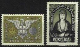 PORTUGAL, AF 784, 847: Yv 795, 857, (*) MNG, F/VF, Cat. € 6,00 - 1910 - ... Repubblica