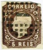 PORTUGAL, AF14a, Yv 13a, Used, F/VF, Cat. € 700,00 - 1855-1858 : D.Pedro V