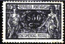 PORTUGAL, Postal Parcels, AF 7, Yv 7, Used, F/VF - Neufs