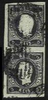 PORTUGAL, AF 19, Yv 18, Used, F/VF, Cat. € 50,00 - 1862-1884 : D.Luiz I