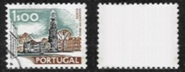 PORTUGAL, AF 1130, Yv 1137, No Underprint, Used, F/VF - Errors, Freaks & Oddities (EFO)