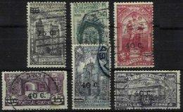 PORTUGAL, AF 554/59, Yv 565/70, Used, F/VF, Cat. € 32,00 - 1910-... République