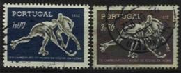 PORTUGAL, AF 751/52, Yv 762/63, Used, F/VF, Cat. € 5,00 - Neufs