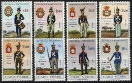 PORTUGAL, CAPE VERDE, AF 314/21, Yv 325/32, ** MNH, F/VF, Cat. € 16,00 - Cap Vert