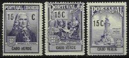 PORTUGAL, CAPE VERDE, AF 1/3, Yv 202/04, (*) MNG, F/VF, Cat. € 3,00 - Cap Vert