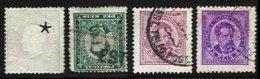 PORTUGAL, AF 43, 61, 63: Yv 44, 57, 60, Used, F/VF, Cat. € 40,00 - 1862-1884 : D.Luiz I