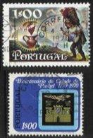 PORTUGAL, AF 1088, 1146, Shifted Perfs, Used, F/VF - Errors, Freaks & Oddities (EFO)