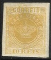 PORTUGAL, CAPE VERDE, AF 13, Yv 13, * MLH, F/VF - Cap Vert