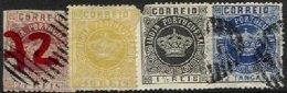 PORTUGUESE INDIA, AF 51, 60, 115, 119: Yv 44, 53, 114, 118, */o M/U, Ave - Inde Portugaise