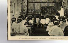 Cpa Ile De Formose Evangelisee Par Les Peres Dominicains Classe Dans Un Orphelinat Non Ecrite - Formosa