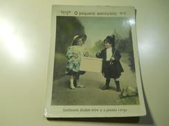 Cigarette Card (16x12cm) Fabrica De Cigarros S. Lourenço * Rio De Janeiro * Brazil * Nº3 * O Pequeno Aventureiro - Otros