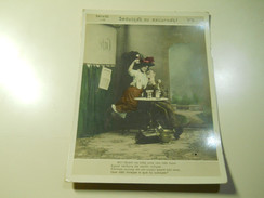 Cigarette Card (16x12cm) Fabrica De Cigarros S. Lourenço * Rio De Janeiro * Brazil* Nº5 *Seducção Ou Excursão? - Sigaretten