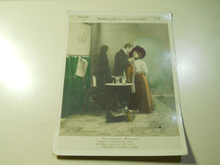 Cigarette Card (16x12cm) Fabrica De Cigarros S. Lourenço * Rio De Janeiro * Brazil* Nº6 *Seducção Ou Excursão? - Sigaretten