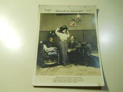 Cigarette Card (16x12cm) Fabrica De Cigarros S. Lourenço * Rio De Janeiro * Brazil* Nº10 *Seducção Ou Excursão? - Sigaretten