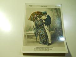 Cigarette Card (16x12cm) Fabrica De Cigarros S. Lourenço * Rio De Janeiro * Brazil* Nº4 *Geisha - Cigarette Cards