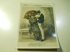 Cigarette Card (16x12cm) Fabrica De Cigarros S. Lourenço * Rio De Janeiro * Brazil* Nº4 *Geisha - Sigaretten