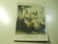 Cigarette Card (16x12cm) Fabrica De Cigarros S. Lourenço * Rio De Janeiro *Brazil* Nº10 *Amor Antigo*fold Right - Sigaretten