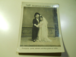 Cigarette Card (16x12cm) Fabrica De Cigarros S. Lourenço * Rio De Janeiro *Brazil* Nº8 * Um Matrimonio Em Miniatura - Sigaretten