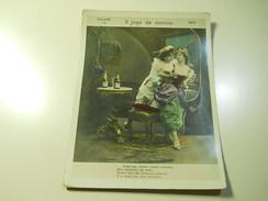Cigarette Card (16x12cm)Fabrica De Cigarros S. Lourenço *Rio De Janeiro*Brazil*nº5*O Jogo De Domino - Otros