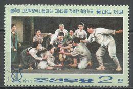 Korea, Democratic People's Republic 1974. Scott #1209 (U) Scene From Opera - Corée Du Nord