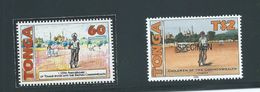 Tonga 1995 Commonwealth Children Bicycle Unadopted Essay For $2 Value - Tonga (1970-...)
