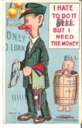 I Hate To Do It Bill But I Need The Money - Humour