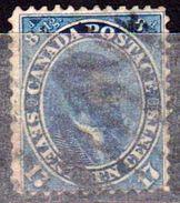 CANADA - Colonie Britannique - Collection D'anciens - 1859 - N° 17 - Oblitéré - Gebraucht
