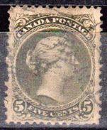 CANADA - Dominion - Collection D'anciens - 1868 - N° 22 - Oblitéré - 1851-1902 Règne De Victoria