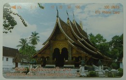 LAOS - Vat Xieng Thong At Luang Prabang Province - 100 Units - 1996 - Mint - Laos