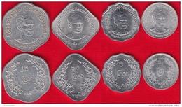 Myanmar Set Of 4 Coins: 1 - 25 Pyas 1966 - Myanmar
