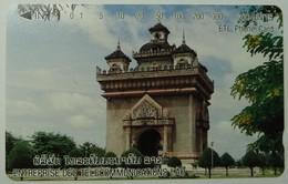 LAOS - Patousay At Vientiane - 300 Units - 1996 - 25,000ex - Mint - Laos