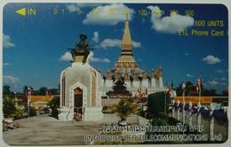 LAOS - That Luang Stupa At Vientiane - 500 Units - 1996 - 25,000ex - Mint - Laos