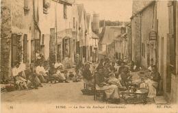 35 VITRE. Tricoteuses Rue Du Rachapt - Vitre