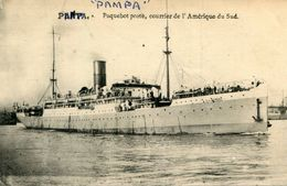 PAQUEBOT POSTE PAMPA - Postal Services