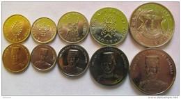 Brunei Set Of 5 Coins 2008-2011 (1+5+10+20+50 Sen) UNC - Brunei