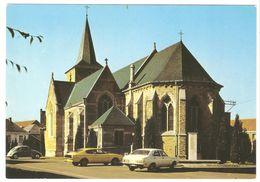 Deftinge - Zicht Op Oudere Deel Van De Kerk (XIe Eeuw) - Uitg. Pastorij - Classic VW Kever / Coccinelle - Ford Taunus - Lierde